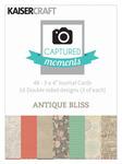 Antique Bliss 3 x 4 Captured Moments Journaling Cards - KaiserCraft