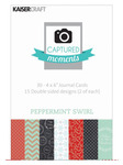 Peppermint Swirl 4 x 6 Captured Moments Journaling Cards - KaiserCraft