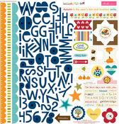 Hello Autumn Treasures & Text Stickers - Bella Blvd