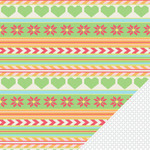 Sweater Weather Paper - Jolly Good - Chickaniddy Crafts