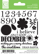 Jolly Good Mini Countdown Clear Stamps - Chickaniddy Crafts