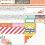 New Harvest Paper - Scrumptious - Chickaniddy Crafts