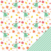 Frolic In The Leaves Paper - Scrumptious - Chickaniddy Crafts