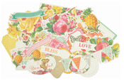 Tropical Punch Collectables Cardstock Die - Cuts - KaiserCraft
