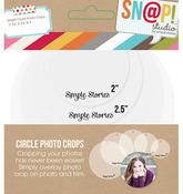 Snap Circle Photo Crops - Simple Stories