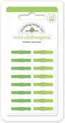 Limeade Mini Clothespins - Doodlebug