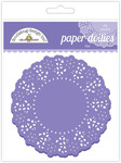 Lilac Paper Doilies - Doodlebug