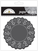Beetle Black Paper Doilies - Doodlebug