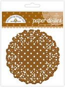 Bon Bon Polka Dot Paper Doilies - Doodlebug