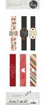 DIY Christmas Label Wraps - Simple Stories