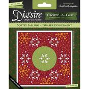 Softly Falling - Diesire Create - A - Card Cutting & Embossing Die