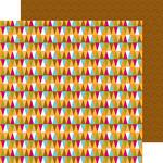 Park Pennants Paper - Happy Camper - Doodlebug