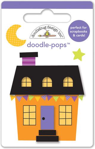 Halloween House Doodlepops - Doodlebug