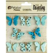 Teal Butterflies - Darjeeling Teastained - Petaloo