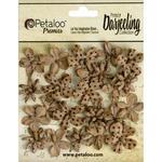 Craft Brown Mini Blooms - Darjeeling Wild Blossoms