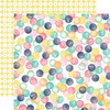 Watercolor Dots Paper - Creative Agenda - Echo Park