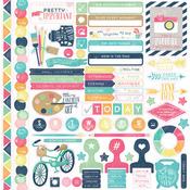 Creative Agenda Element Stickers - Echo Park