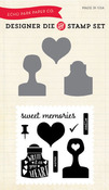 Sweet Memories Die Stamp Set - Creative Agenda - Echo Park