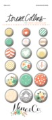 Nine & Co Decorative Brads - Teresa Collins