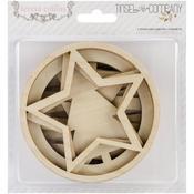 Tinsel & Company Laser - Cut Wooden Ornaments - Teresa Collins
