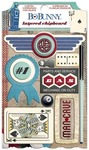 Wild Card Layered Chipboard - Bo Bunny