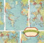 Explore Paper - Souvenir - Bo Bunny