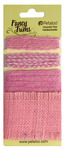Pink Burlap Fancy Trims - Petaloo
