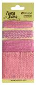 Pink Burlap Fancy Trims - Petaloo