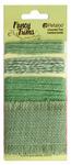 Green Burlap Fancy Trims - Petaloo