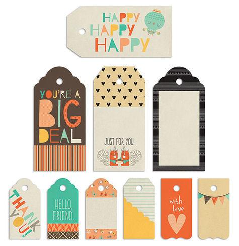 True Friends Decorative Tags Combo Pack - Fancy Pants Designs