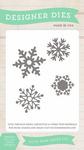 Snowflake Set #1 Small Dies - Echo Park