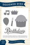 Happy Birthday Large Dies - Echo Park
