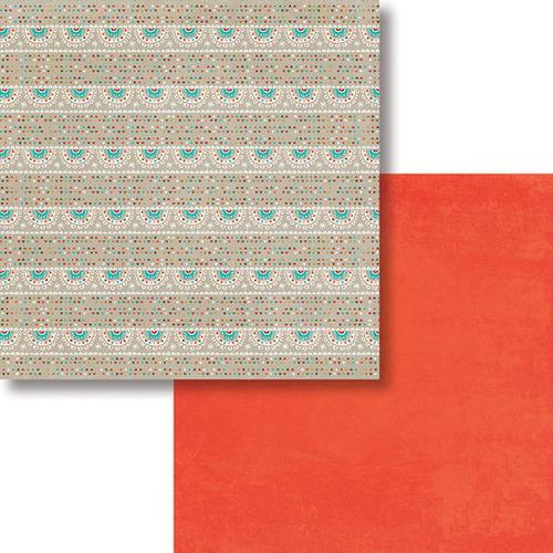 Festive Paper - Oh Deer! - Fancy Pants Designs