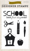 Back-to-School Clear Stamps - Echo Park