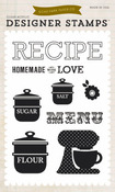 Homemade With Love Clear Stamps - Echo Park