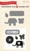 Bundle Of Joy Little Lady Dies - Stamps Combo Set - Echo Park