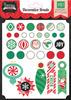 Christmas Cheer Brads - Echo Park