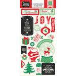 Christmas Cheer Chipboard Stickers - Echo Park