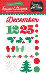 Christmas Cheer Enamel Shapes - Echo Park