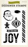 Joy 4 x 6 Stamp - Christmas Cheer - Echo Park