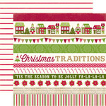 Border Strip Paper - Home For The Holidays - Echo Park