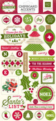 Home For The Holidays Chipboard - Echo Park