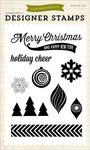 Holiday Cheer 4 x 6 Stamp - Home For The Holidays - Echo Park