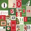Countdown To Christmas Paper - Christmas Time - Carta Bella