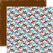 Chevron Paper - All Bundled Up - Carta Bella