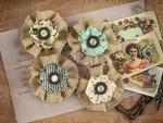 Belicosa Paper & Fabric Flowers - Cigar Box Secrets - Prima