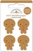 Jolly Gingerbread Doodlepops - Doodlebug