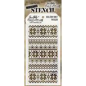 Holiday Knit Layering Stencil - Tim Holtz