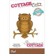 Owl Petite Die - Cottage Cutz