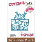 Happy Birthday Present Elites Die - Cottage Cutz